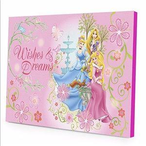 👸Disney Princess LED Light up Canvas Wall Art👸